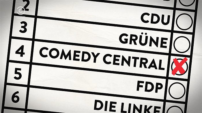 Comedy Central: New Kids Wahlwerbespot