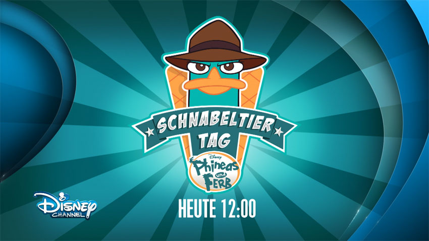 Disney Channel: Schnabeltier Tag