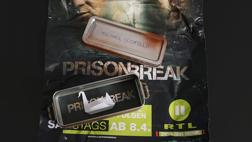 RTL2: PR-Mailing – Prison Break
