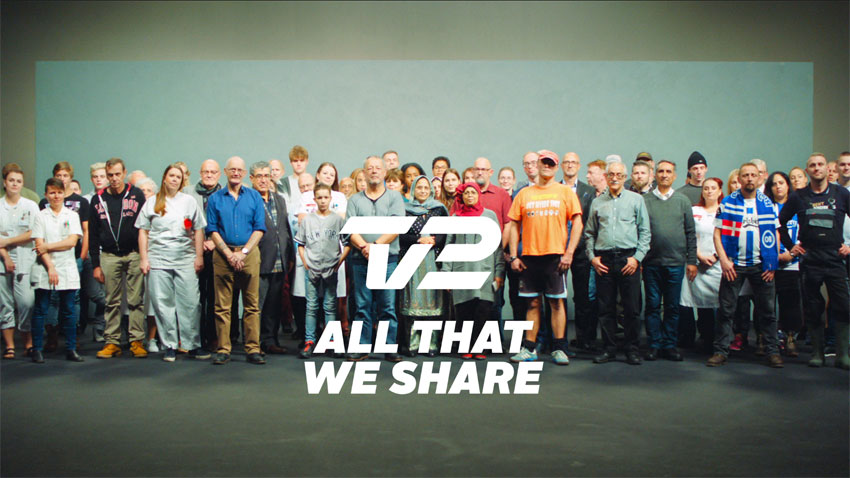 TV 2 Denmark: All that we share