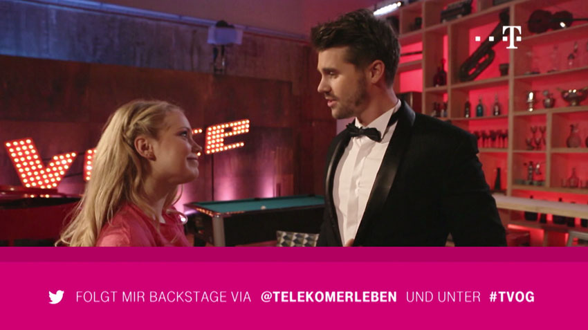 SevenOne AdFactory: Integrated content marketing campaign for Telekom & The Voice of Germany