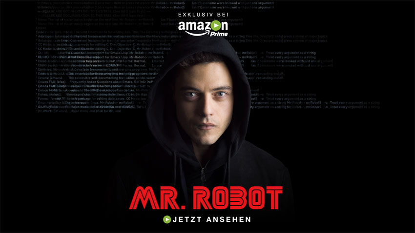 BDA Creative: Amazon Prime Video - Mr Robot