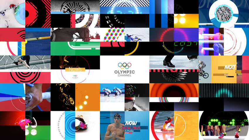 Lambie-Nairn: Olympic Channel