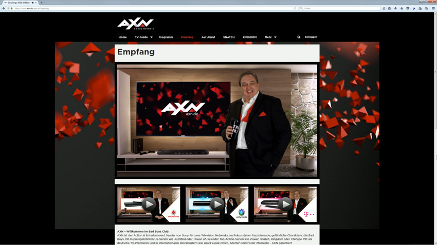AXN: Die Kalkofe Tutorials