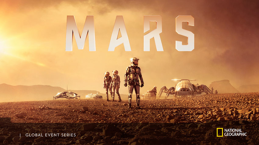 National Geographic: Mars Campaign