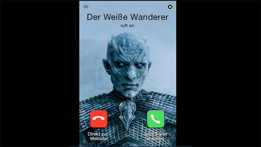 RTL2: Game of Thrones – Mobile Interstitial