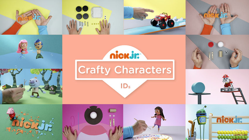 Nick Jr: Crafty Characters
