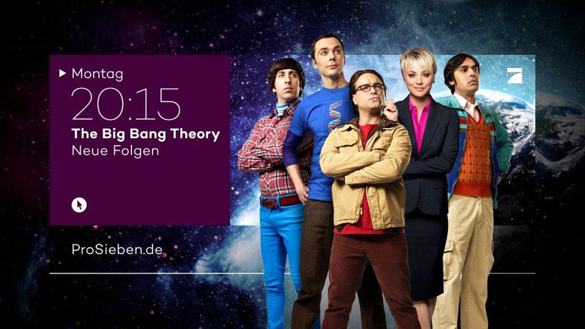ProSieben: The Big Bang Theory